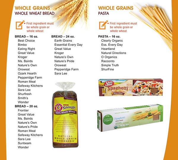 Whole Grain Foods Wic