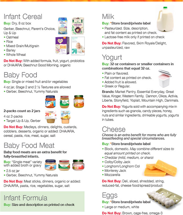 Free Wic Baby Food